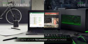 Razer Blade Stealth and Core 2