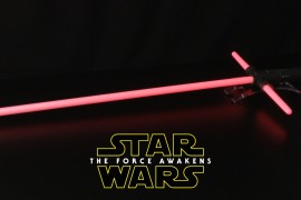 Star Wars The Force Awakens Kylo Ren Force FX Lightsaber Review