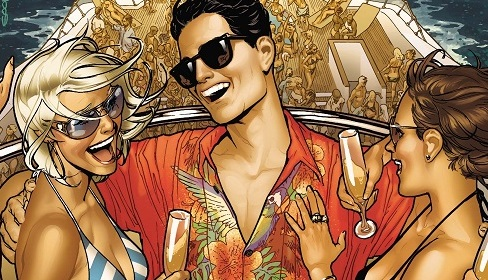 "Even Superman Likes To Party in ""America Alien #3"" (Review)"