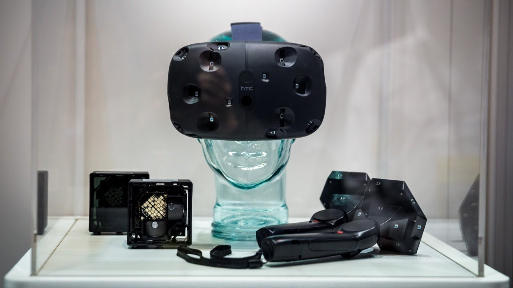 The newest Vive Prototype has a build in front camera to help with room navigation. Price TBA