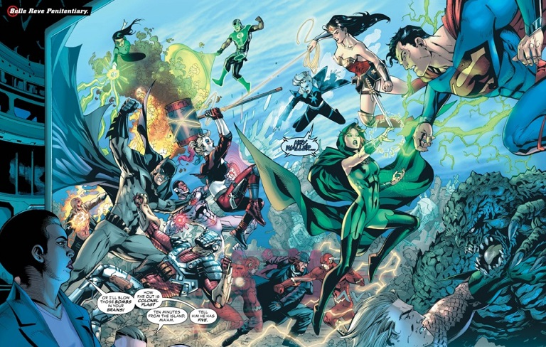 """Killer Frost Strikes as a New and Deadlier Game Begins in """"Justice League vs. Suicide Squad"""" #2 (Review)"""