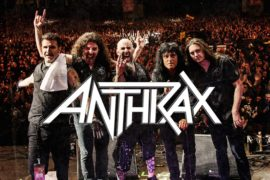 ANTHRAX IS CROWNED ONCE AGAIN