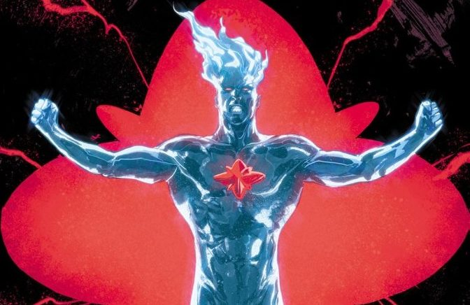 """Uncontained and Uncontrollable Power Unleashed in """"The Fall and Rise of Captain Atom"""" #1 (Review)"""