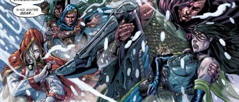 "Rolling the Dice in a Frozen Adventure, a ""Dungeons and Dragons: Frost Giants Fury #1"" (Review)"