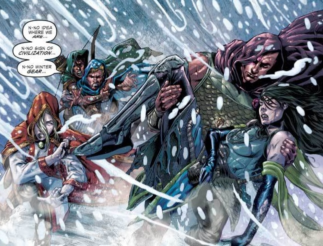 """Rolling the Dice in a Frozen Adventure, a """"Dungeons and Dragons: Frost Giants Fury #1"""" (Review)"""