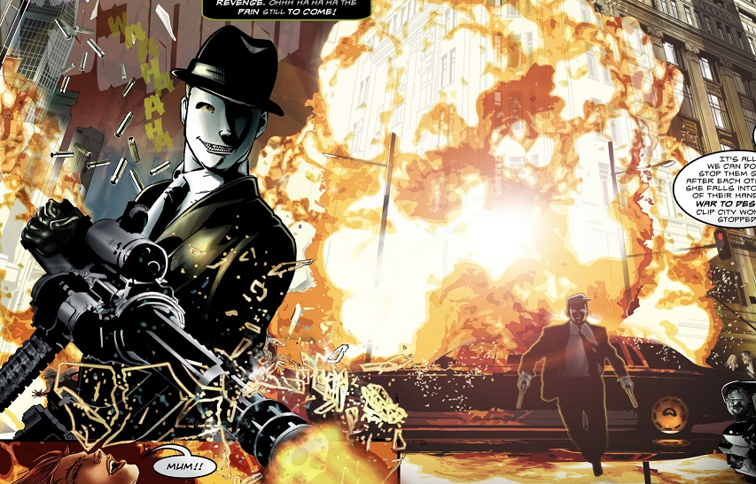 The Sinner of All Cities A GUNFACE #1 EXCLUSIVE PREVIEW