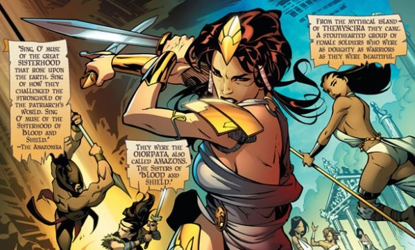 A Journey Begins: Odyssey of the Amazons #1 Review