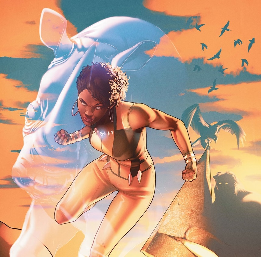 Wonderfully Wild: Justice League of America – Vixen #1 (Review)