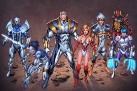 Rob Liefeld's 'Extreme Universe' Comic Books are Gearing Up for the Big Screen