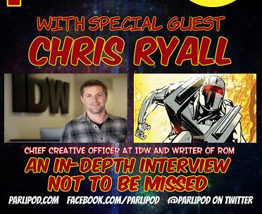 Parlipod Comic Book Talk: Chris Ryall Interview