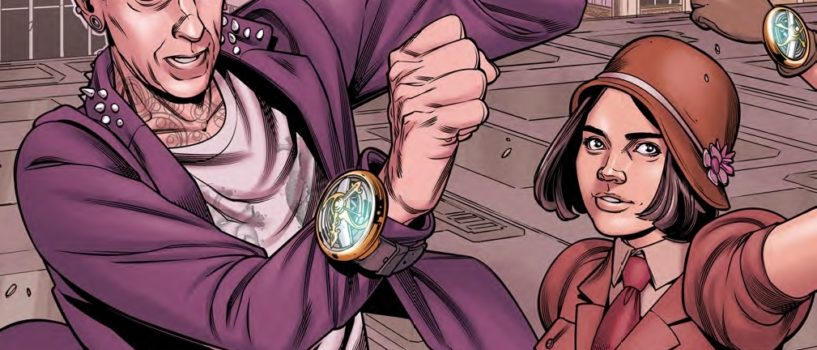 "The Doctor is a Punk Rocker in ""The Twelfth Doctor Adventures Year Two"" (Review)"