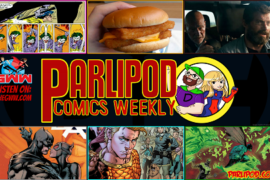 Parlipod Comic Book Talk: Batburger with Cheese