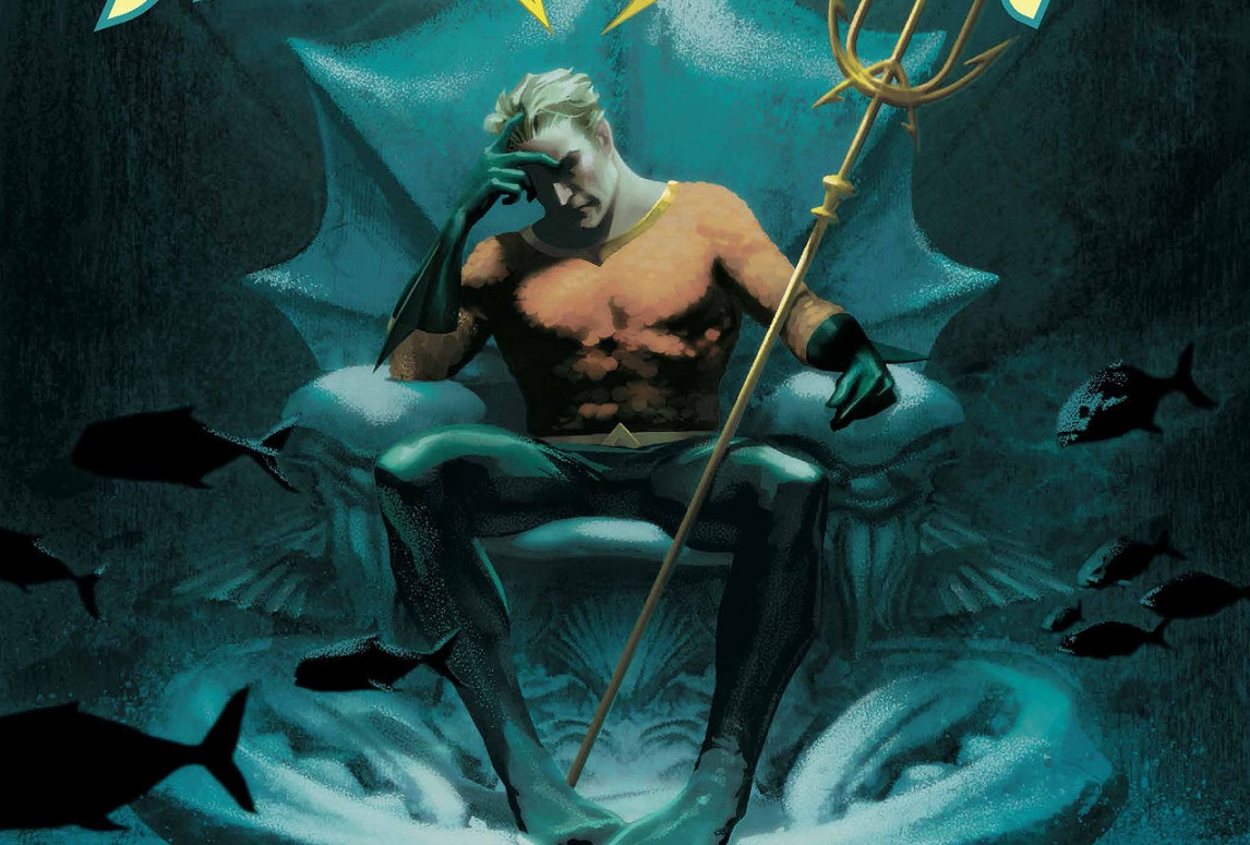 Float On in Aquaman #16 REVIEW