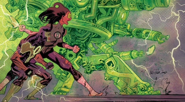 The Wages of Fear….Overcome in Green Lanterns #17 REVIEW