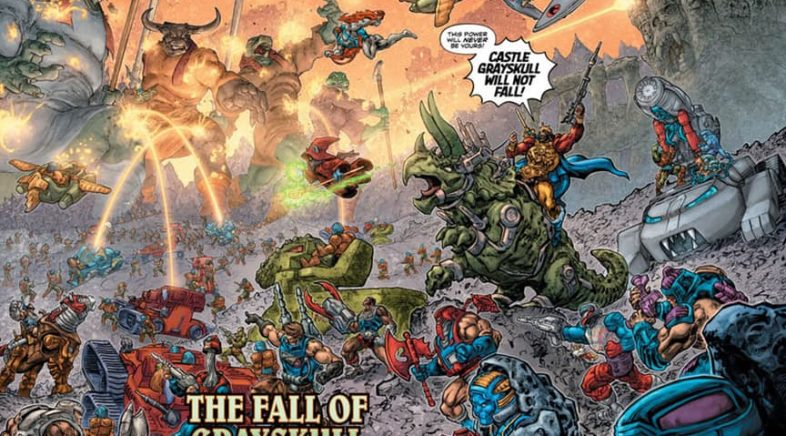 Childhood mashup strikes Eternia in He-Man / Thundercats #5 Review