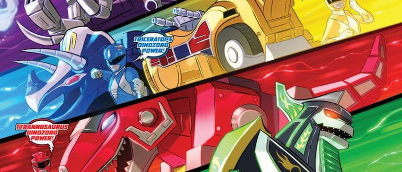 No, No Power Rangers: Justice League/Power Rangers #2 Review