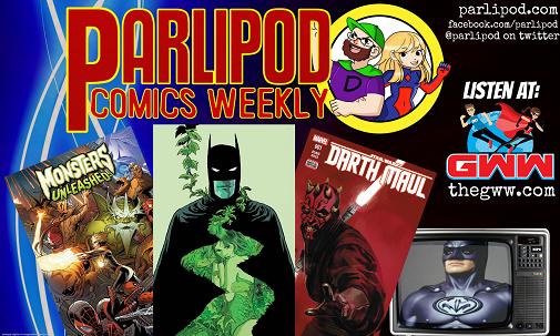 Parlipod Comic Book Talk: Wax Lips