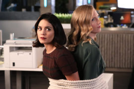 Emily's Dating a Henchman in 1X04 of Powerless Review