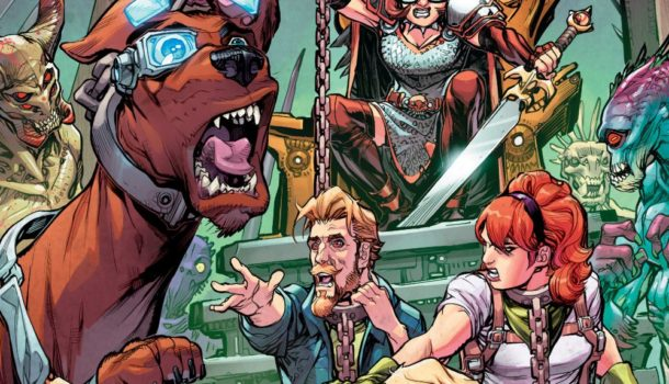 Meet the Mother of Monsters in this Scooby Apocalypse #10 EXCLUSIVE PREVIEW