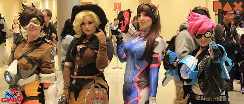 The Cosplay of PAX South 2016