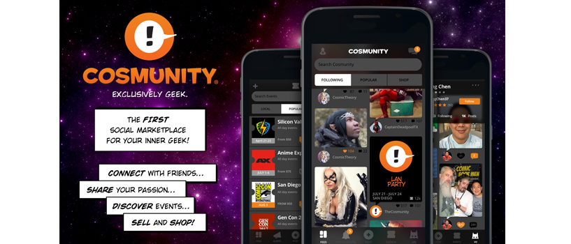 New Cosmunity App brings the convention to you