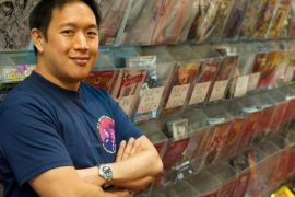 We talk Cosmunity, Comic Book Men and Karate Kid with Ming Chen