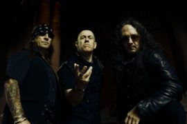Metal Legends VENOM INC Sign with Nuclear Blast Records