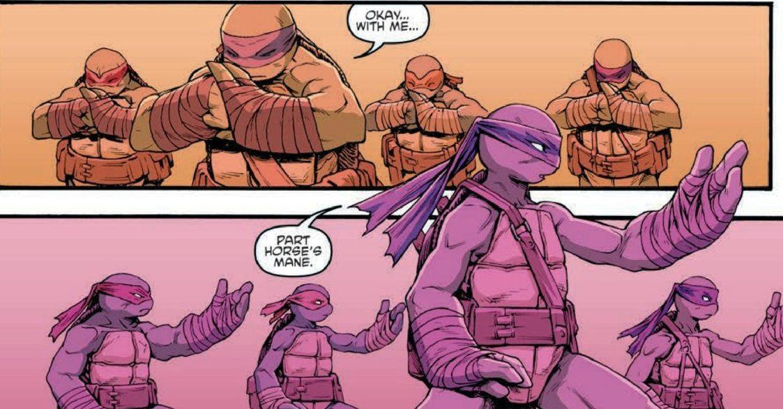Teenage Mutant Ninja Turtles #68 Review