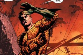 Stopping A Warhead in Aquaman #18 REVIEW