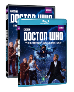 The Return of Doctor Mysterio DVD Blu Ray