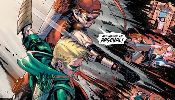 Green Arrow #19 Review