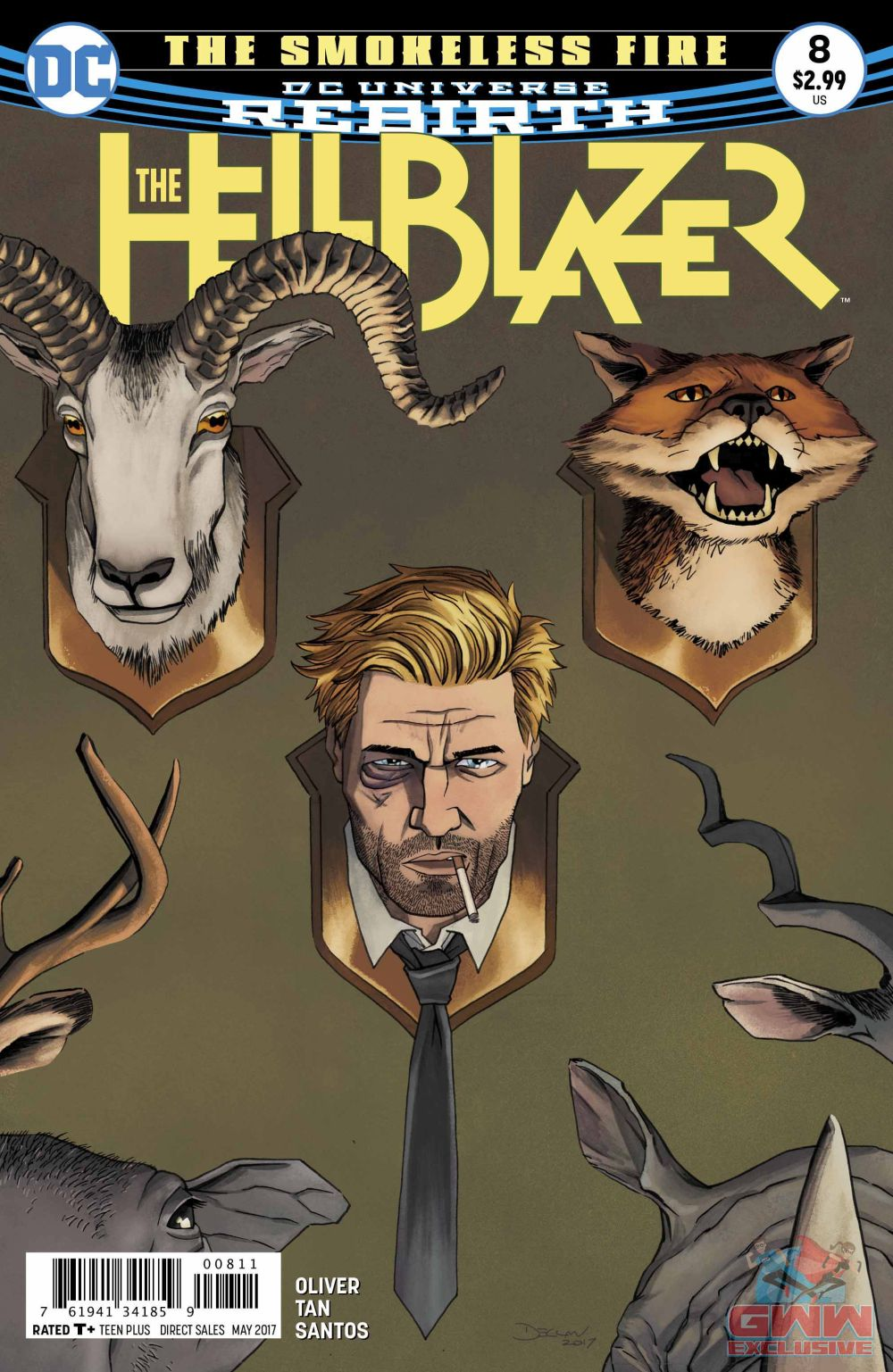Hellblazer #8 Review