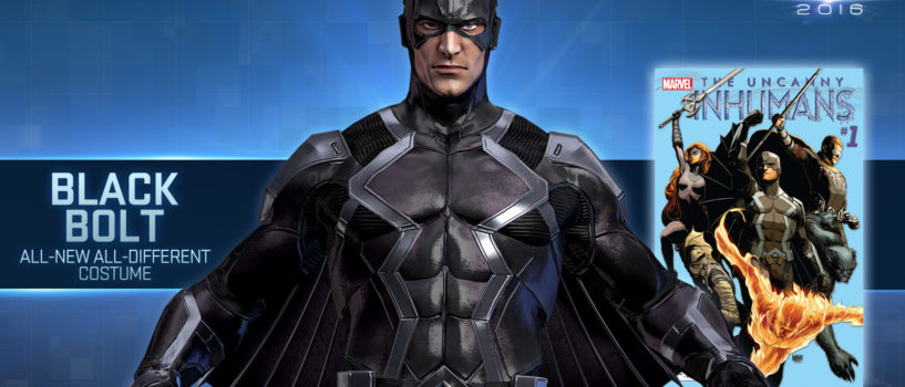 The dawn of Black Bolts reign in Marvel Heroes
