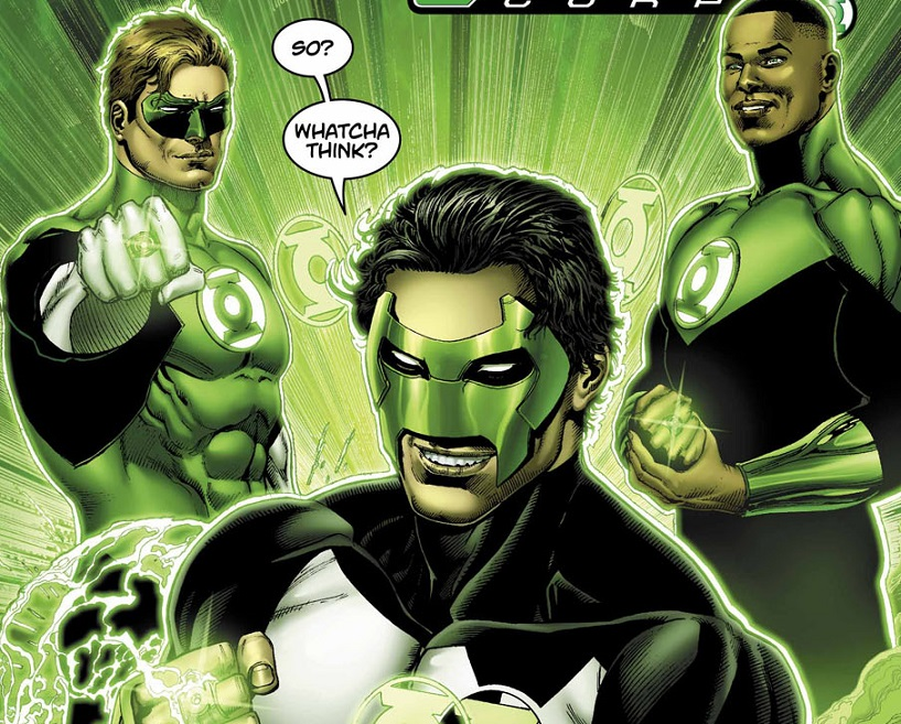 Hal Jordan and the Green Lantern Corps #17 Review