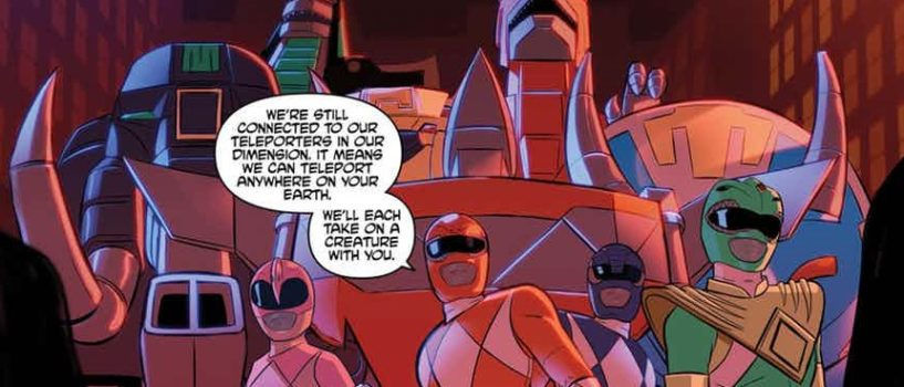 Taking the Bait in Justice League Power Rangers #3 REVIEW