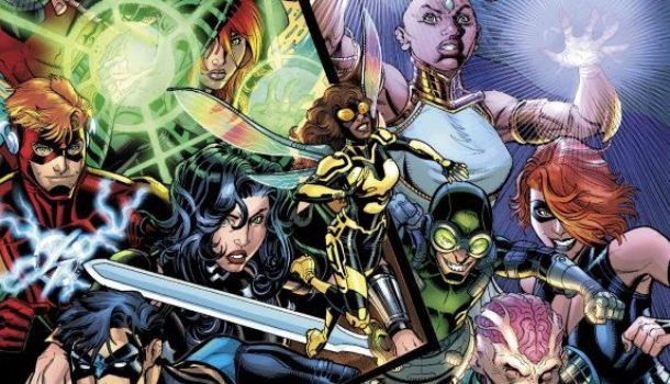 The Manhattan Buzzkill in Titans #9 REVIEW