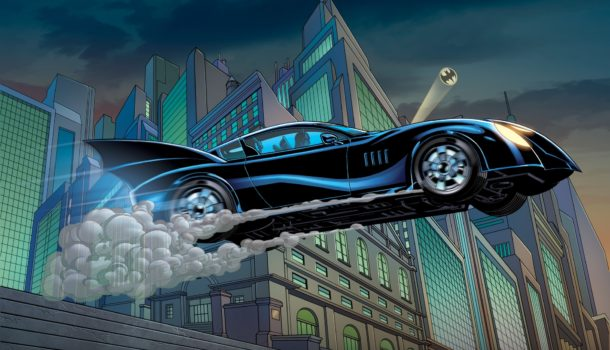 A Short List of Some of my Favorite Comic Book Vehicles