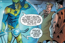 Booster Gold/The Flintstones Annual #1 Review