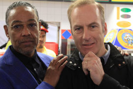 Gallery: Bob Odenkirk and Giancarlo Esposito visit Los Pollos Hermanos pop-up at SXSW