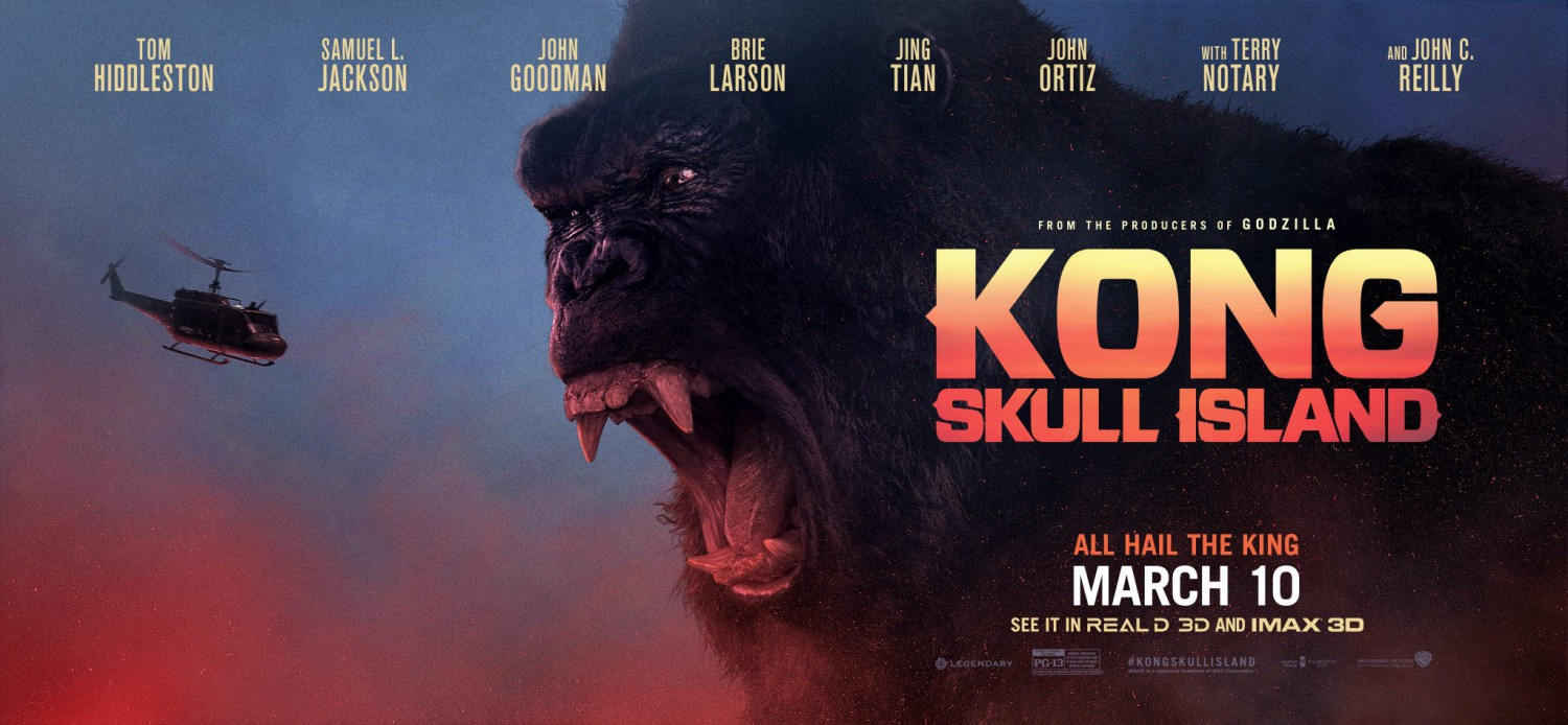 A Monstrous Hit – Kong: Skull Island REVIEW