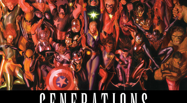 More Details on Marvel Generations Event