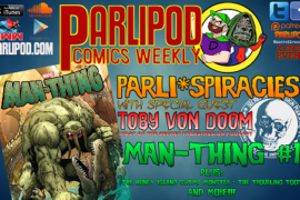 Parlipod Comics Weekly #29: PARLI*SPIRACIES