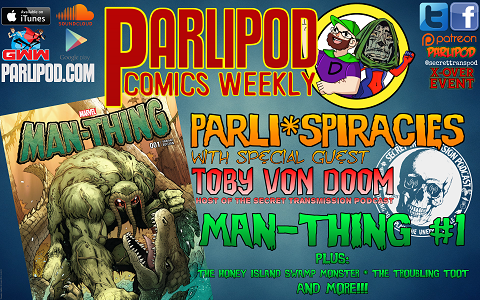 Parlipod Comics Weekly #29: PARLI*SPIRACIES