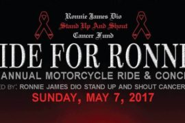 "EDDIE TRUNK Returns to Host 3rd Annual ""RIDE FOR RONNIE"""