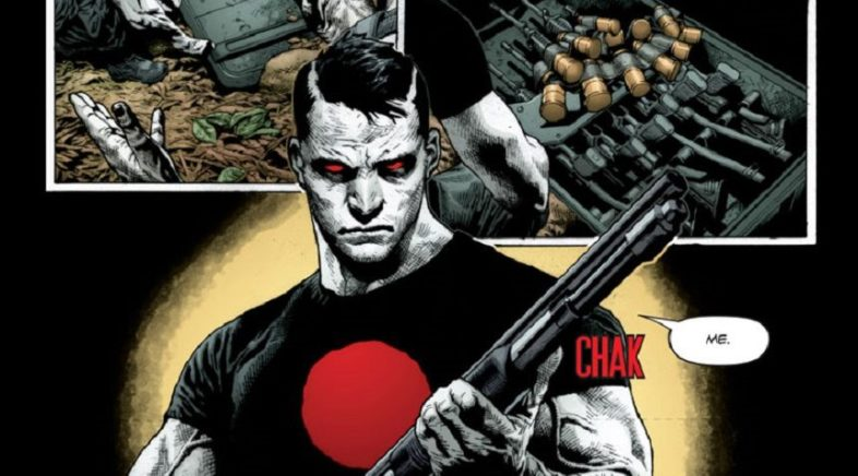 New Image of Jason David Frank as Bloodshot