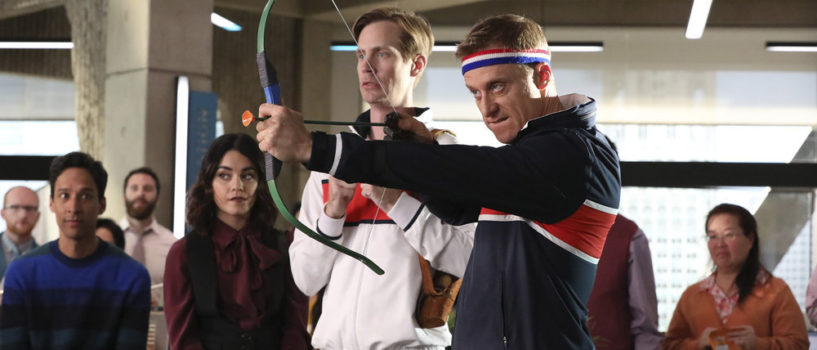 Powerless S1XE7 Van v Emily: Dawn of Justice Review