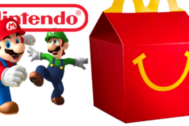 Nintendo and McDonald's Team Up for New Happy Meal Toys