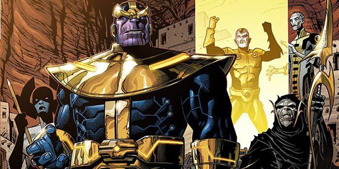 Infinity War Set Pics Seem to Show The Black Order