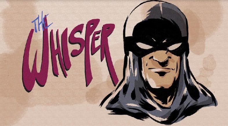 New Webcomic, The Whisper