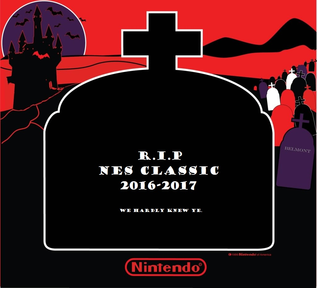 Nintendo to End Production of the NES Classic